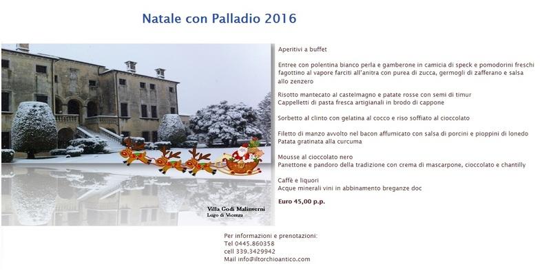 Natale con Palladio