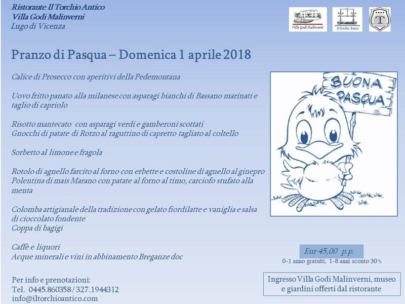 Pasqua 2018 - Villa Godi Malinverni, Il Torchio Antico