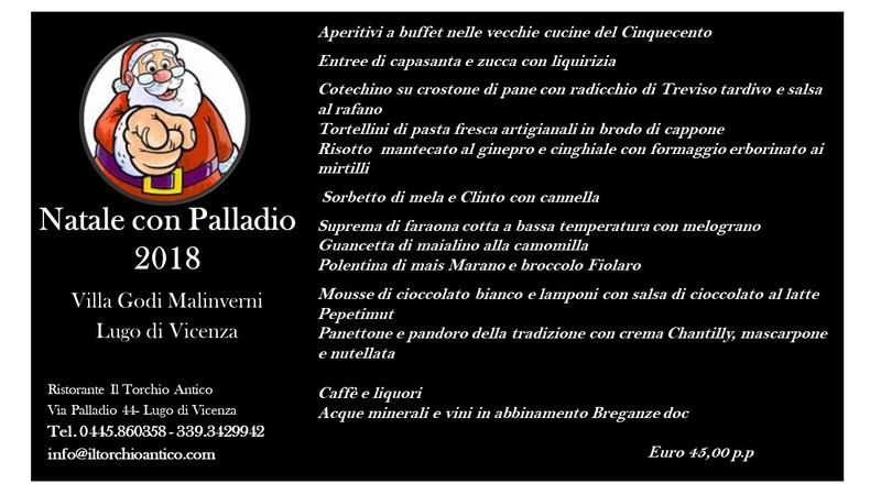 Natale con Palladio 2018 - Villa Godi Malinverni